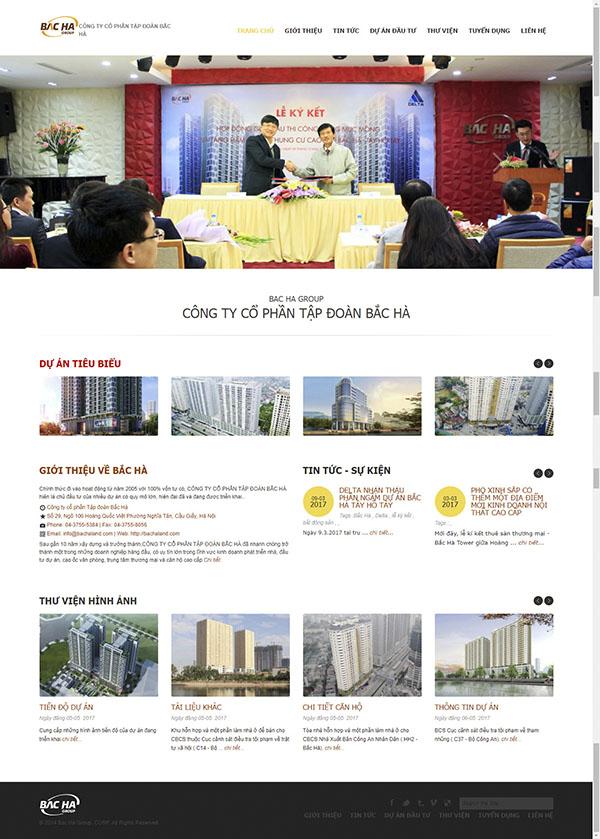 Thiết kế Mẫu giới thiệu công ty GTCT03
