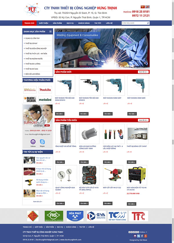 Thiết kế Mẫu thiết bị công nghiệp TBCN01