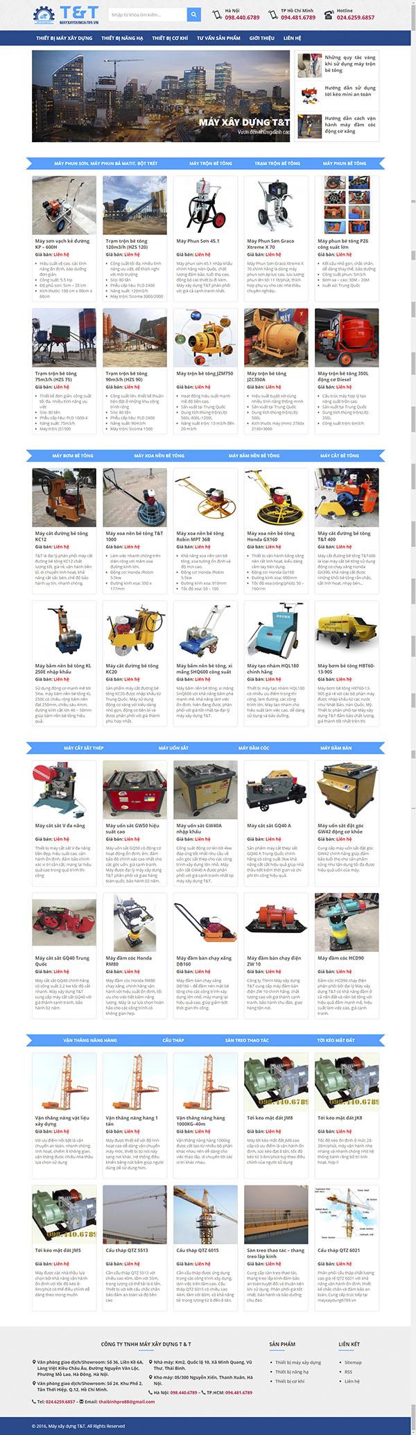 Thiết kế Mẫu thiết bị công nghiệp TBCN05