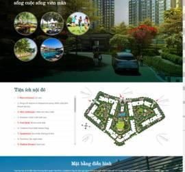 Mẫu website bất động sản 09