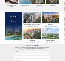 Mẫu website bất động sản 10