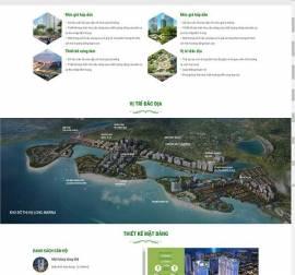 Mẫu website bất động sản 11