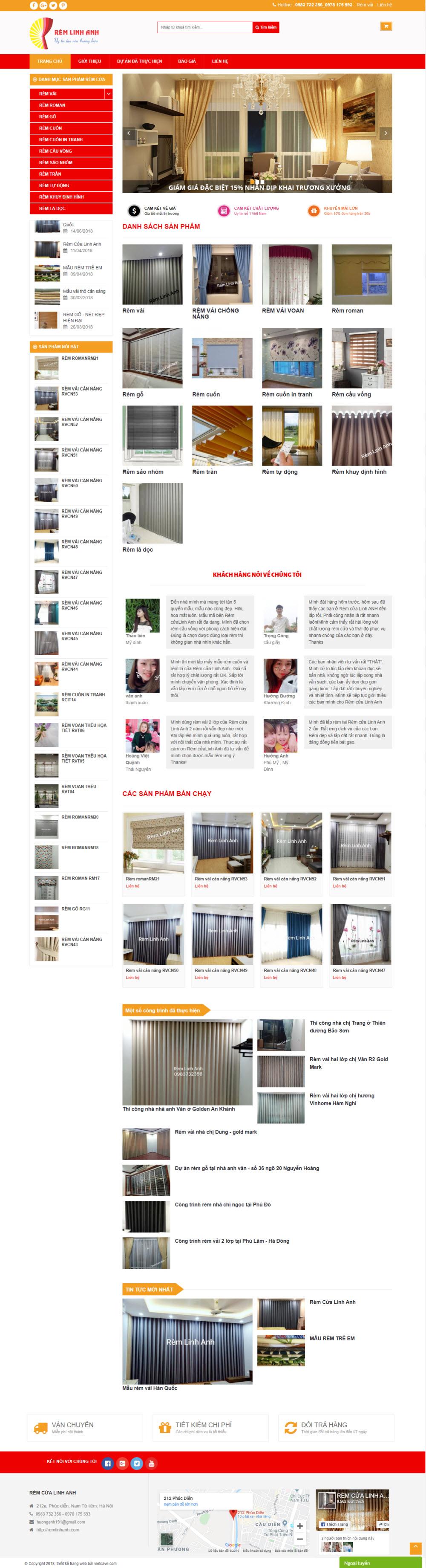 Mẫu website cơ bản 05