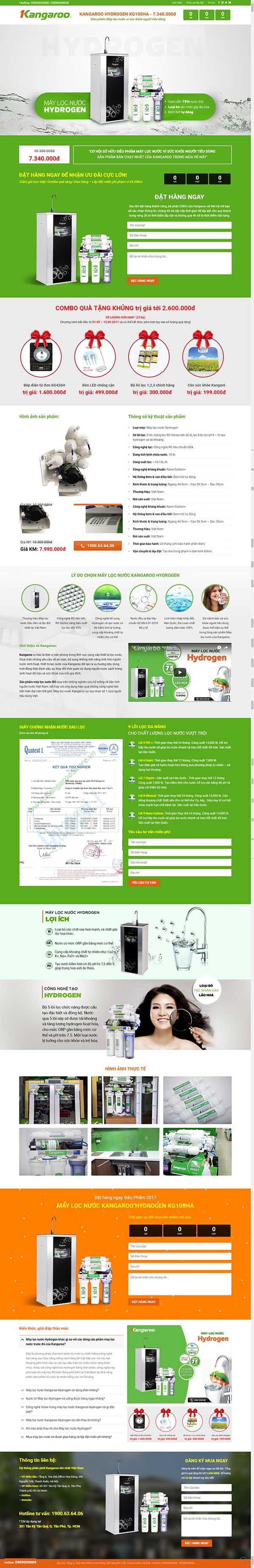 Thiết kế Mẫu website điện máy DM11