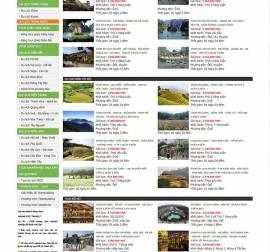 Mẫu website du lịch Dl04