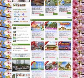 Mẫu website du lịch DL05