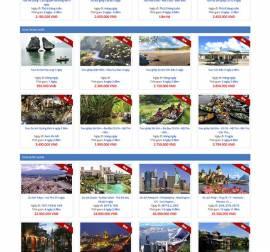 Mẫu website du lịch DL06