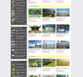 Mẫu website du lịch DL07