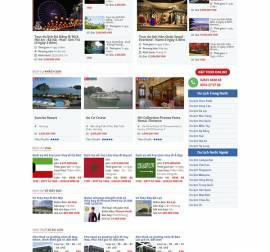 Mẫu website du lịch DL09