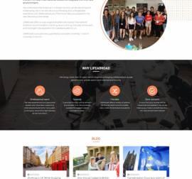 Mẫu website giáo dục đào tạo 08