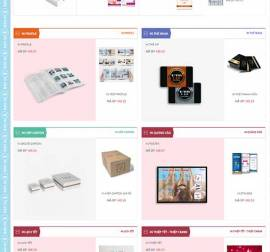 Mẫu website in ấn 01