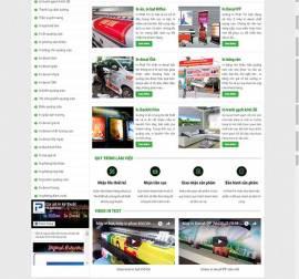 Mẫu website in ấn 12