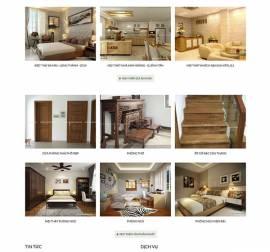 Mẫu website kiến trúc nội thất KTNT08
