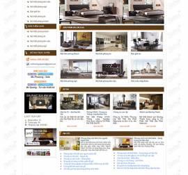 Mẫu website kiến trúc nội thất KTNT12