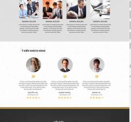 Mẫu website Landing Page 10
