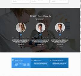 Mẫu website Landing Page 12