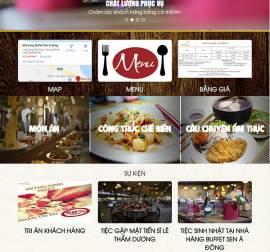 Mẫu website nhà hàng khách sạn NHKS03