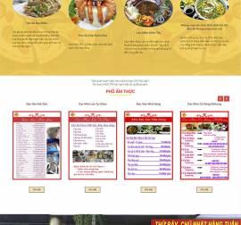 Mẫu website nhà hàng khách sạn NHKS04