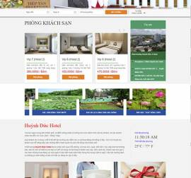 Mẫu website nhà hàng khách sạn NHKS07
