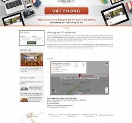 Mẫu website nhà hàng khách sạn NHKS09
