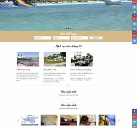 Mẫu website nhà hàng khách sạn NHKS10