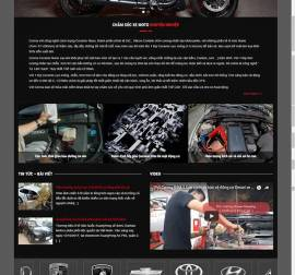 Mẫu website ô tô - Xe máy 01