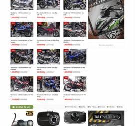Mẫu website ô tô xe máy OTXM02
