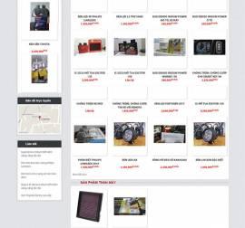 Mẫu website ô tô xe máy OTXM03