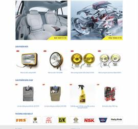 Mẫu website ô tô xe máy OTXM05