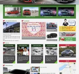 Mẫu website ô tô xe máy OTXM07