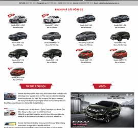 Mẫu website ô tô xe máy OTXM09