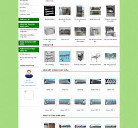 Mẫu Website Ống Thép Inox INOX01