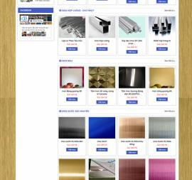 Mẫu Website Ống Thép Inox INOX02