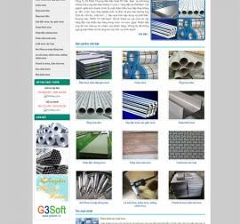 Mẫu Website Ống Thép Inox INOX03