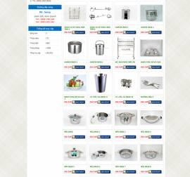 Mẫu Website Ống Thép Inox INOX04