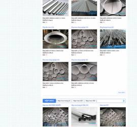 Mẫu Website Ống Thép Inox INOX05