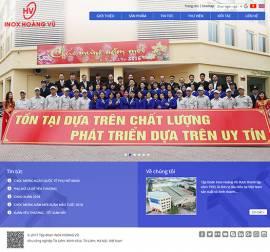 Mẫu Website Ống Thép Inox INOX06