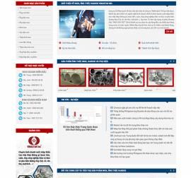 Mẫu Website Ống Thép Inox INOX07