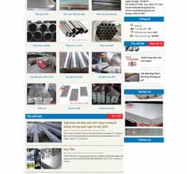 Mẫu Website Ống Thép Inox INOX08