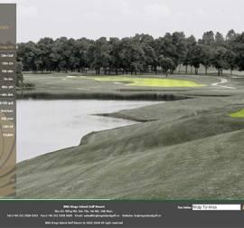 Mẫu Website Sân Golf SG01