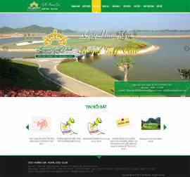 Mẫu Website Sân Golf SG02