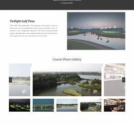 Mẫu Website Sân Golf SG03