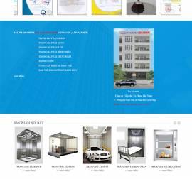 Mẫu Website Thang Máy TM01