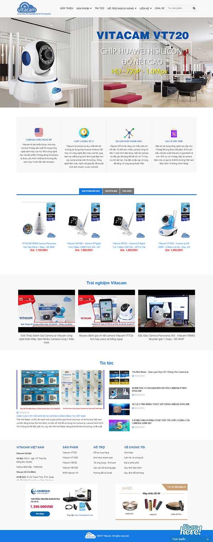 Thiết kế Mẫu website thiết bị an ninh 04