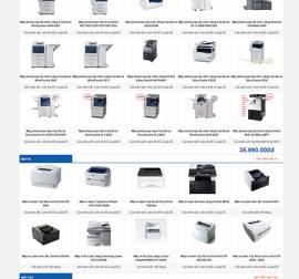 Mẫu Website Văn Phòng Phẩm VPP02
