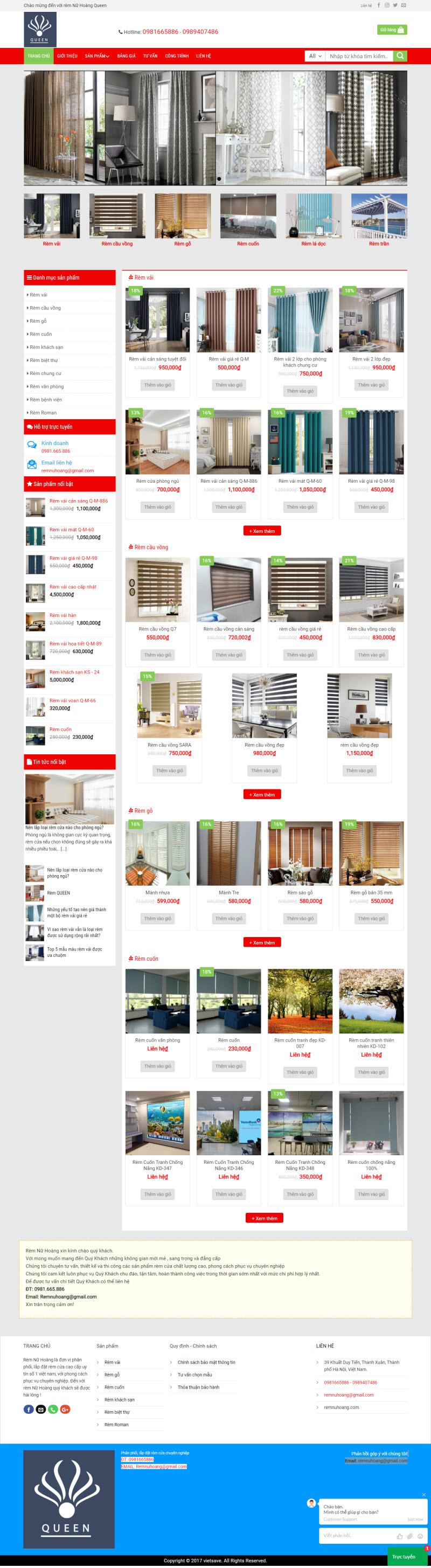 Thiết kế mẫu website cơ bản 07