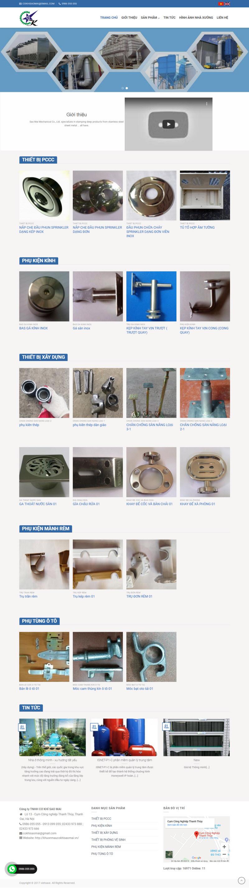 Thiết kế mẫu website cơ bản 09