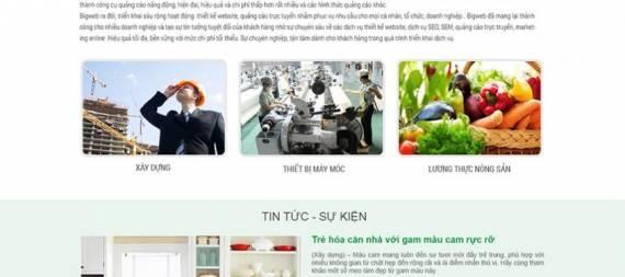 Thiết kế website xuất nhập khẩu