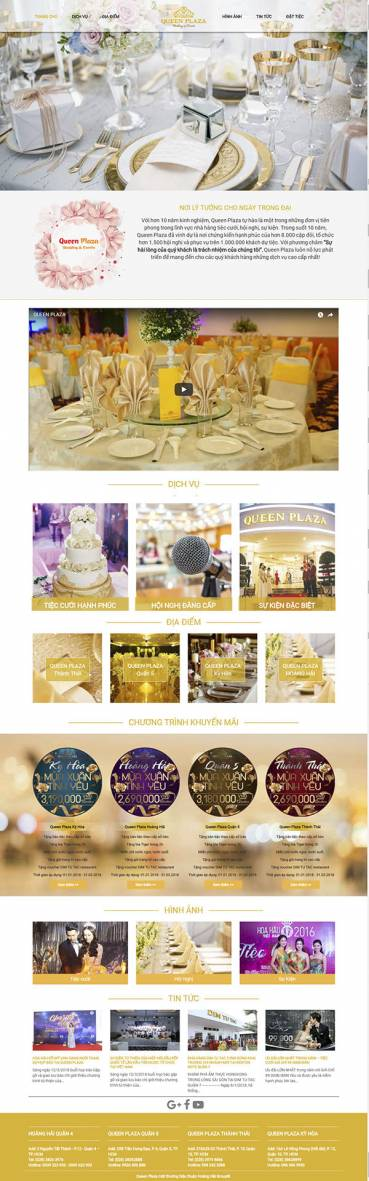 Thiết kế Mẫu website nhà hàng khách sạn NHKS06