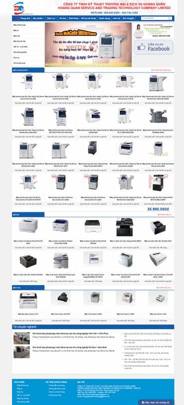 Thiết kế Mẫu Website Văn Phòng Phẩm VPP02